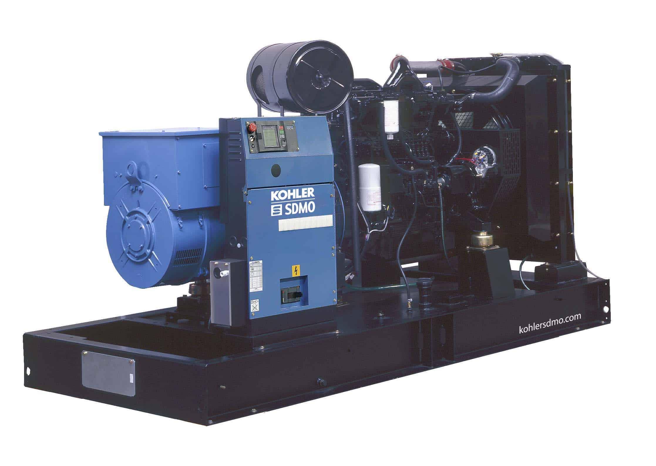 Motorgenerátor D300 - záložní zdroje