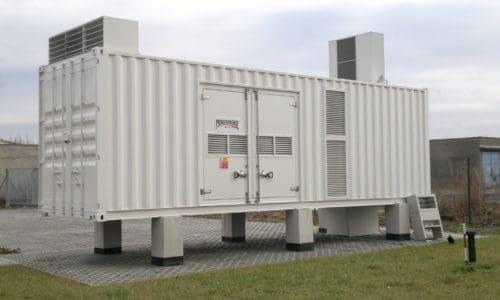 motorgenerátor SDMO - záložní zdroje energie