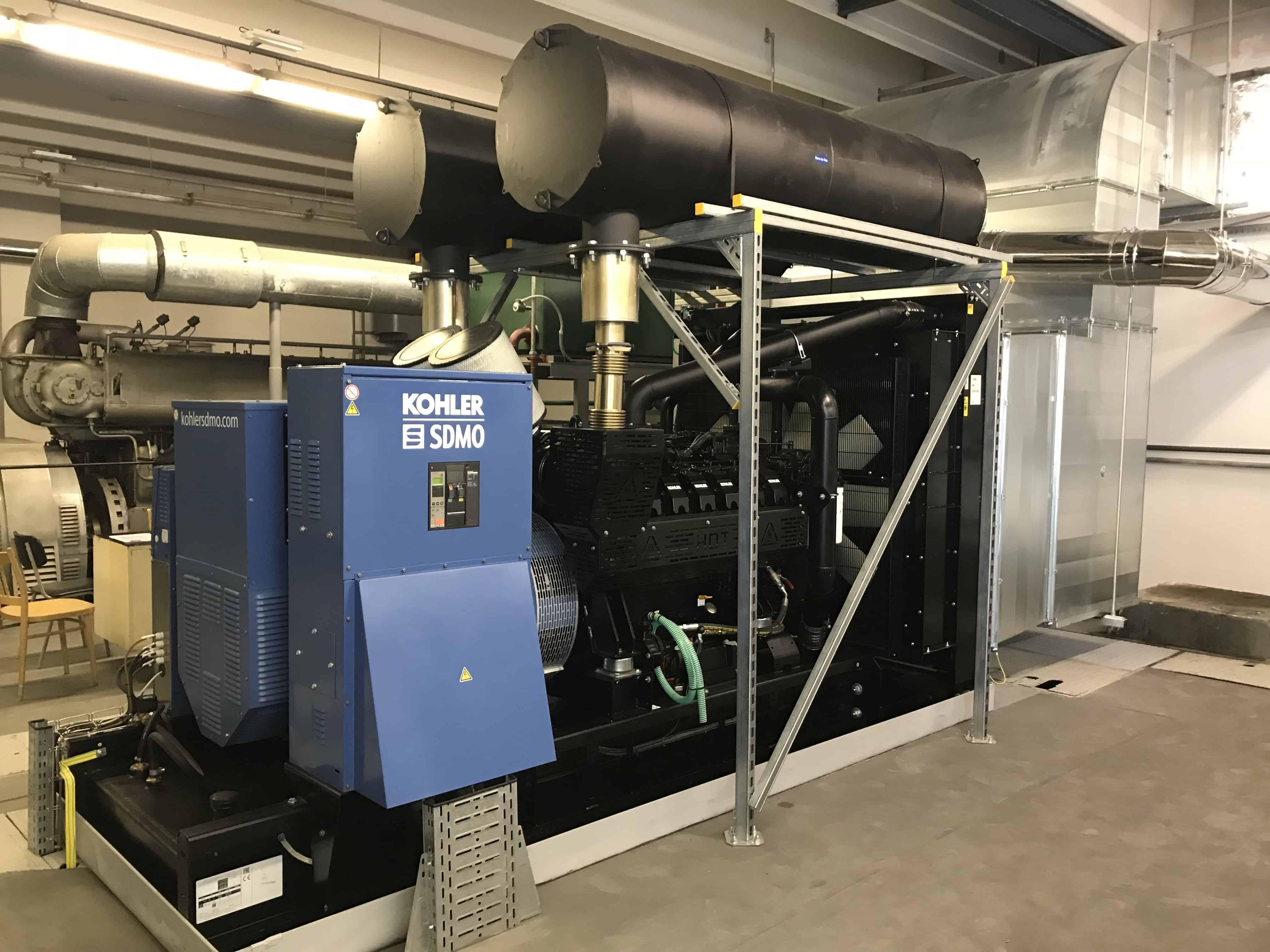Záložní zdroje energie pro fakultní nemocnici Brno - motorgenerátory KOHLER SDMO