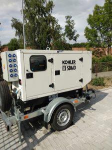 Reference společnost POWERBRIDGE - záložní zdroje energie KOHLER SDMO