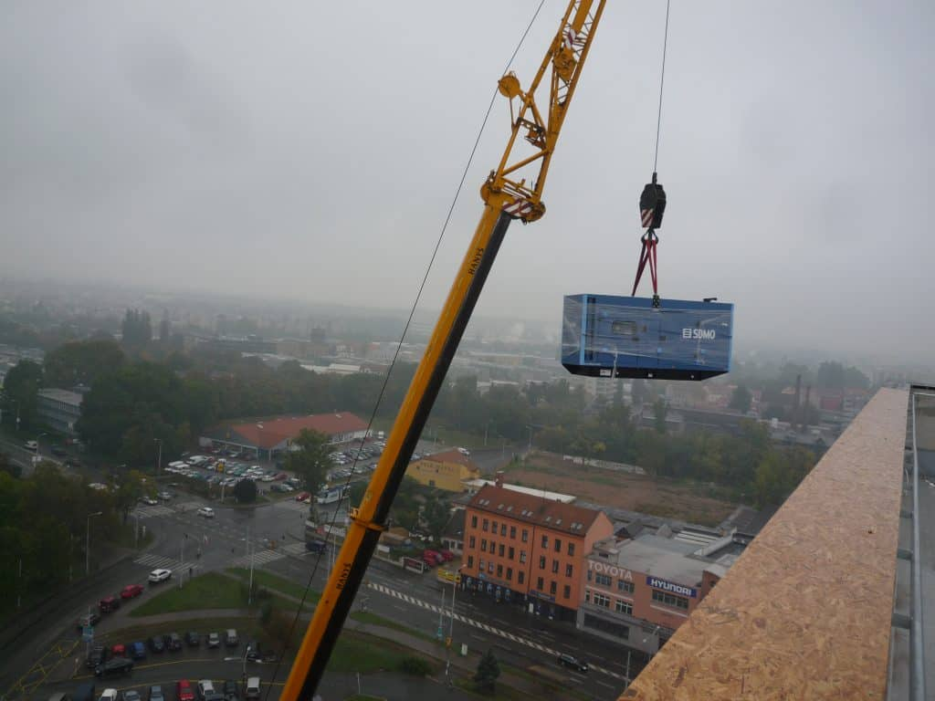 motorgenerátor DORN Brno