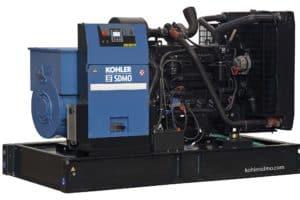 Motorgenerátory KOHLER SDMO bez kapotáže