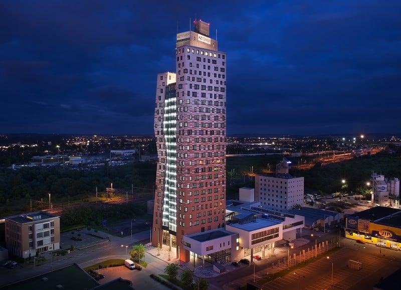 AZ TOWER BRNO - dodávka záložních zdrojů energie